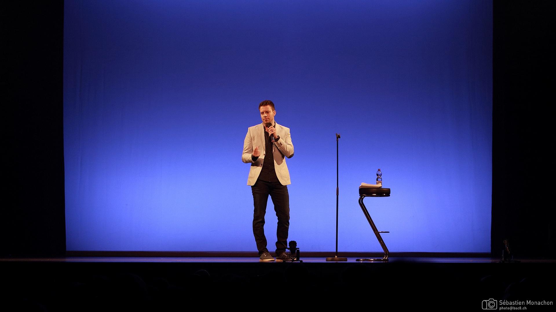 Alex Roy - Festival du Rire de Genève - Casino Théâtre - 28 avril 2016 Sébastien Monachon