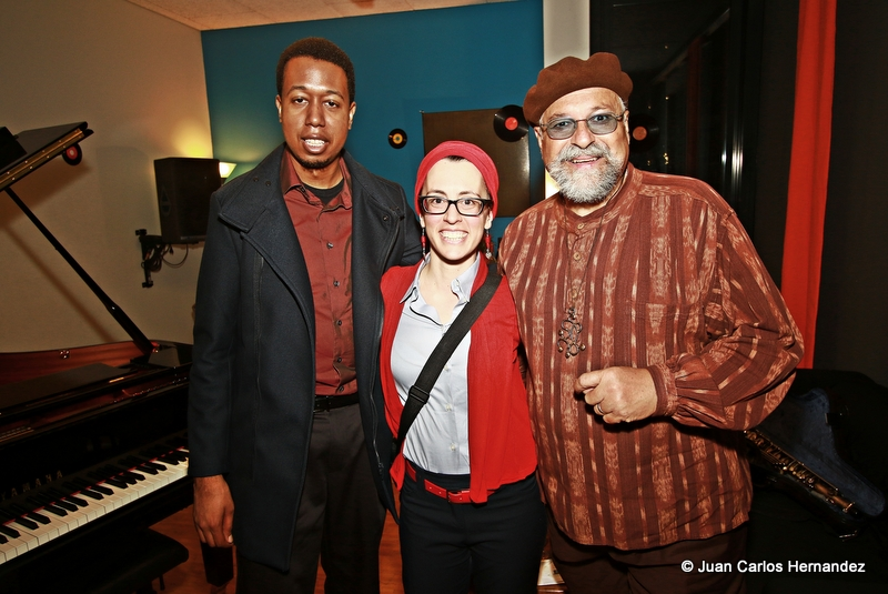 Avec Lawrence Fields et Joe Lovano au Loge 21 de l'AMR