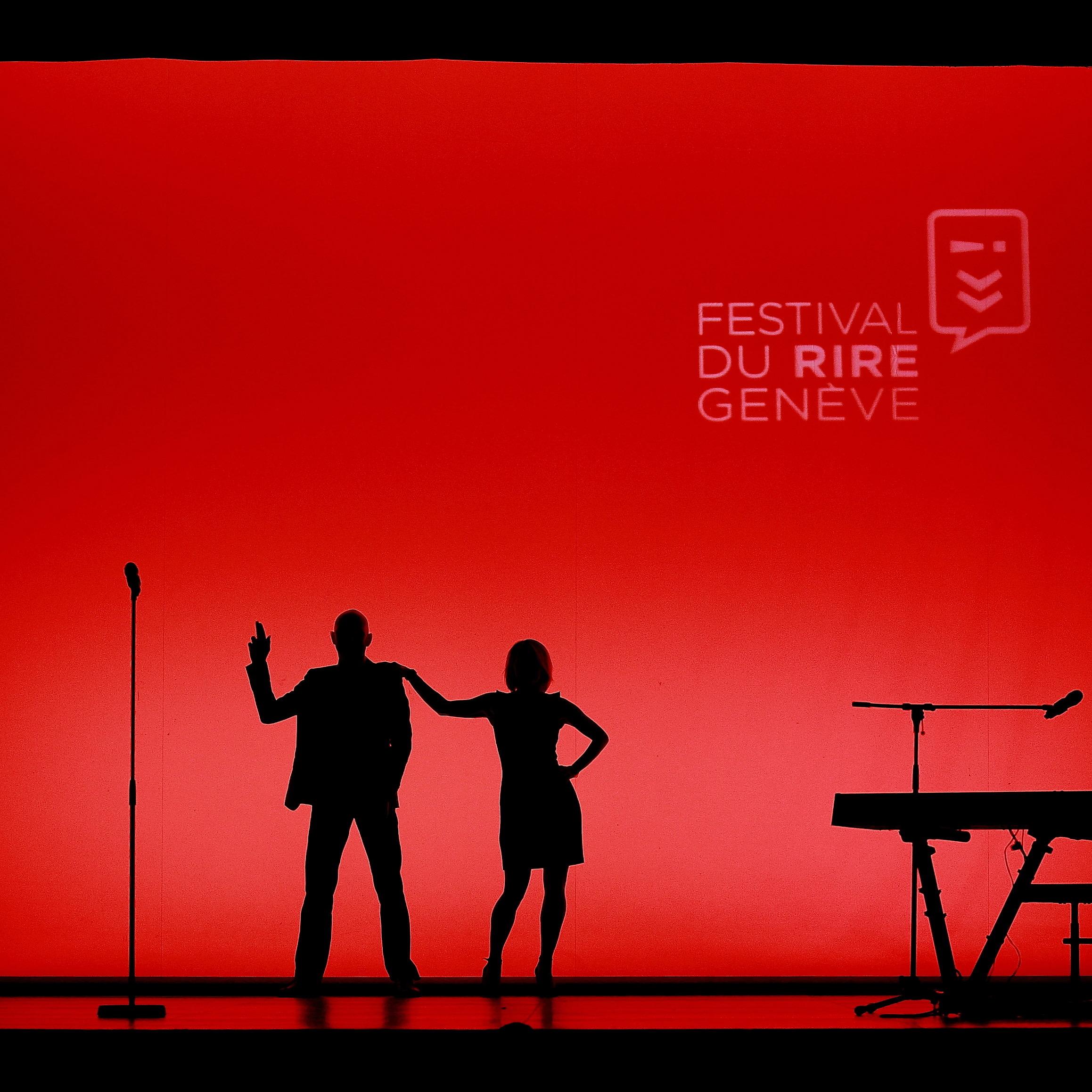 Cécile Giroud & Yann Stotz - Festival du rire de Genève - Casino-Théâtre - 26 mars 2015 Sébastien Monachon